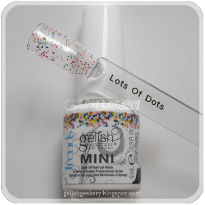 Gelish Trends Swatch: Lots Of Dots