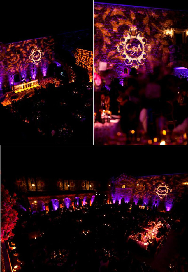 Wedding Inspiration Stunning Purple Gold Decor