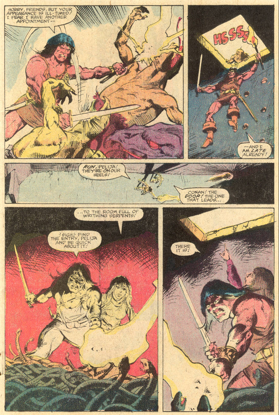 Conan the Barbarian (1970) Issue #139 #151 - English 9