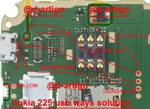 Nokia 225 not charging problem solution.