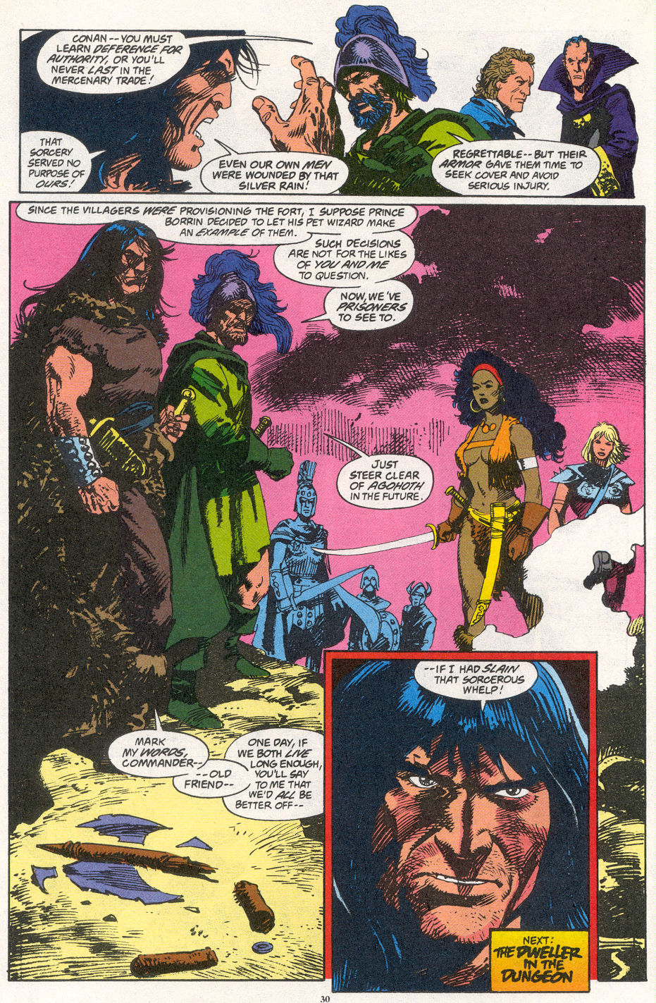 Conan the Barbarian (1970) Issue #266 #278 - English 21