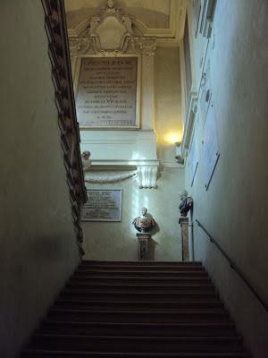Antonio Foschini scalone marmoreo bibilioteca Ariostea Ferrara