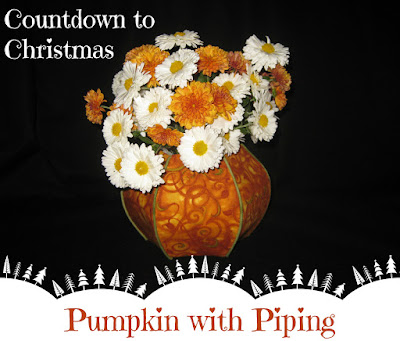 Pumpkin with Piping