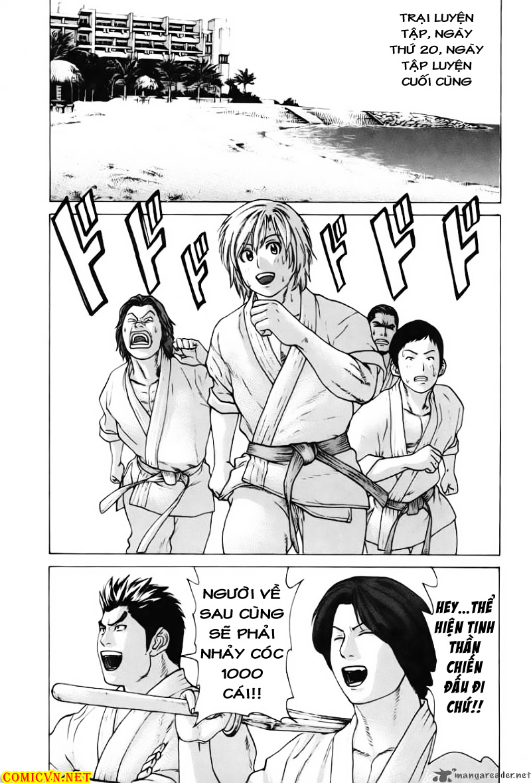 Karate Shoukoushi Kohinata Minoru chap 53 Trang 4