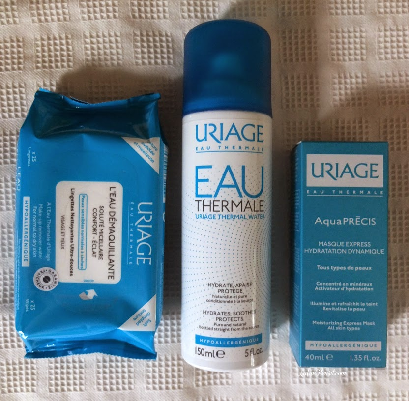 uriage, thermal water, body, skin, beauty, bblogger, beautyblogger, blog, uriage-les-bains, spa, Alps, make-up, bodylotion, make-up remover, daycream, eau thermale, rosaline, www.LaVieFleurit.com