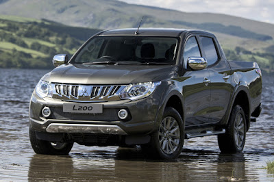 Mitsubishi L200 Series 5 Double Cab (2016) Front Side 1