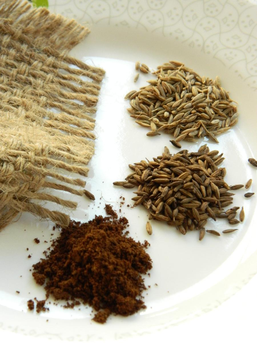 Cumin Seeds, Roasted Cumin Seeds and Cumin Powder