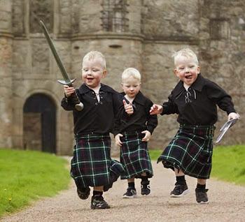 Niños Escoceses.