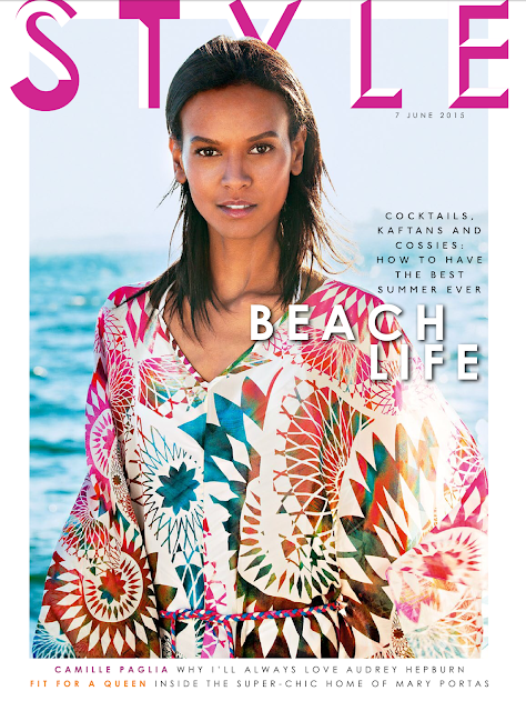 Actress, Model @ Liya Kebede by Ben Morris for Sunday Times Style, June 2015