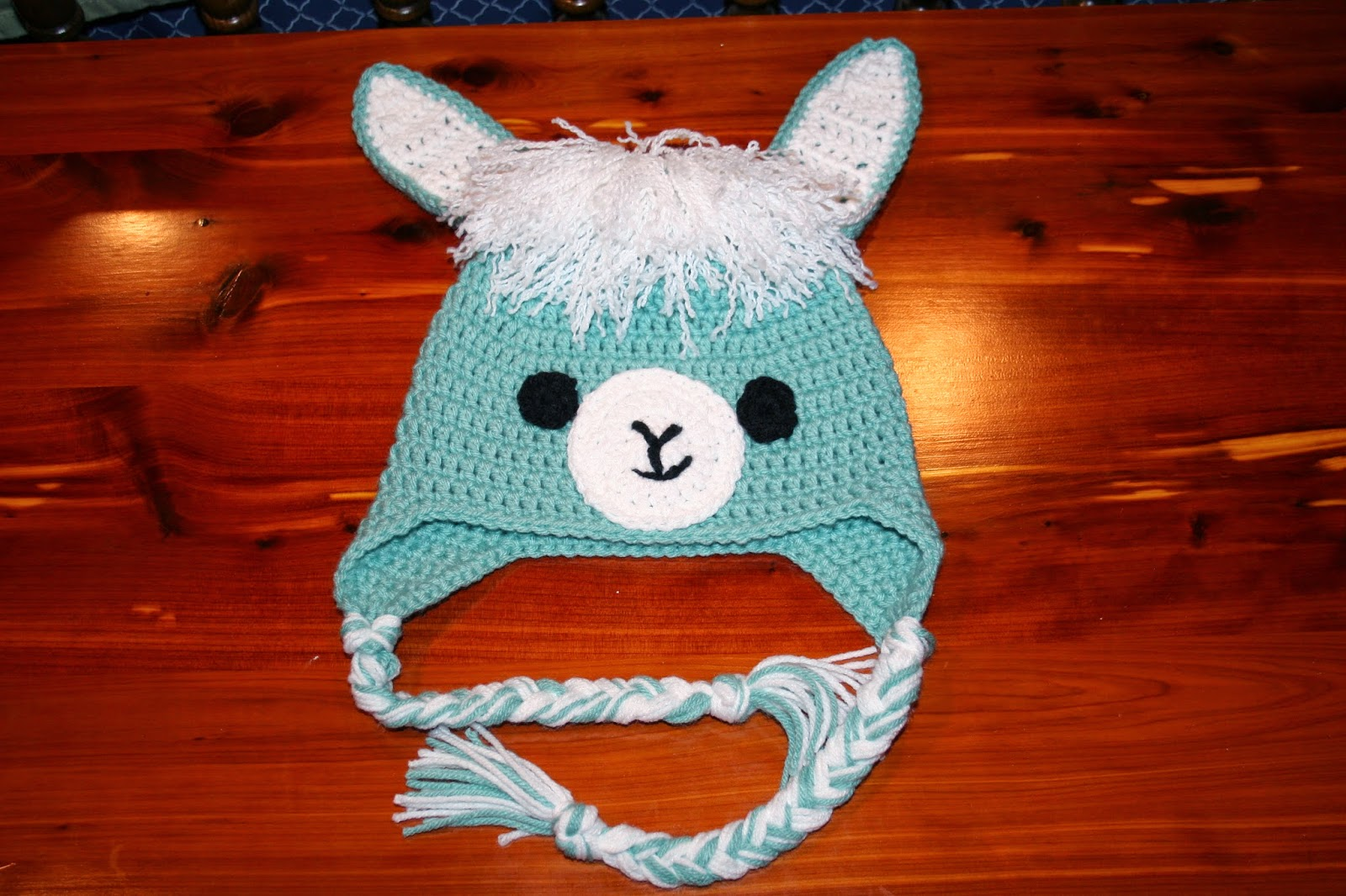The crafty flutist llama alpaca hat free crochet pattern i couldnt find any free llama hat patterns so i created my own this is what i came up with dt1010fo