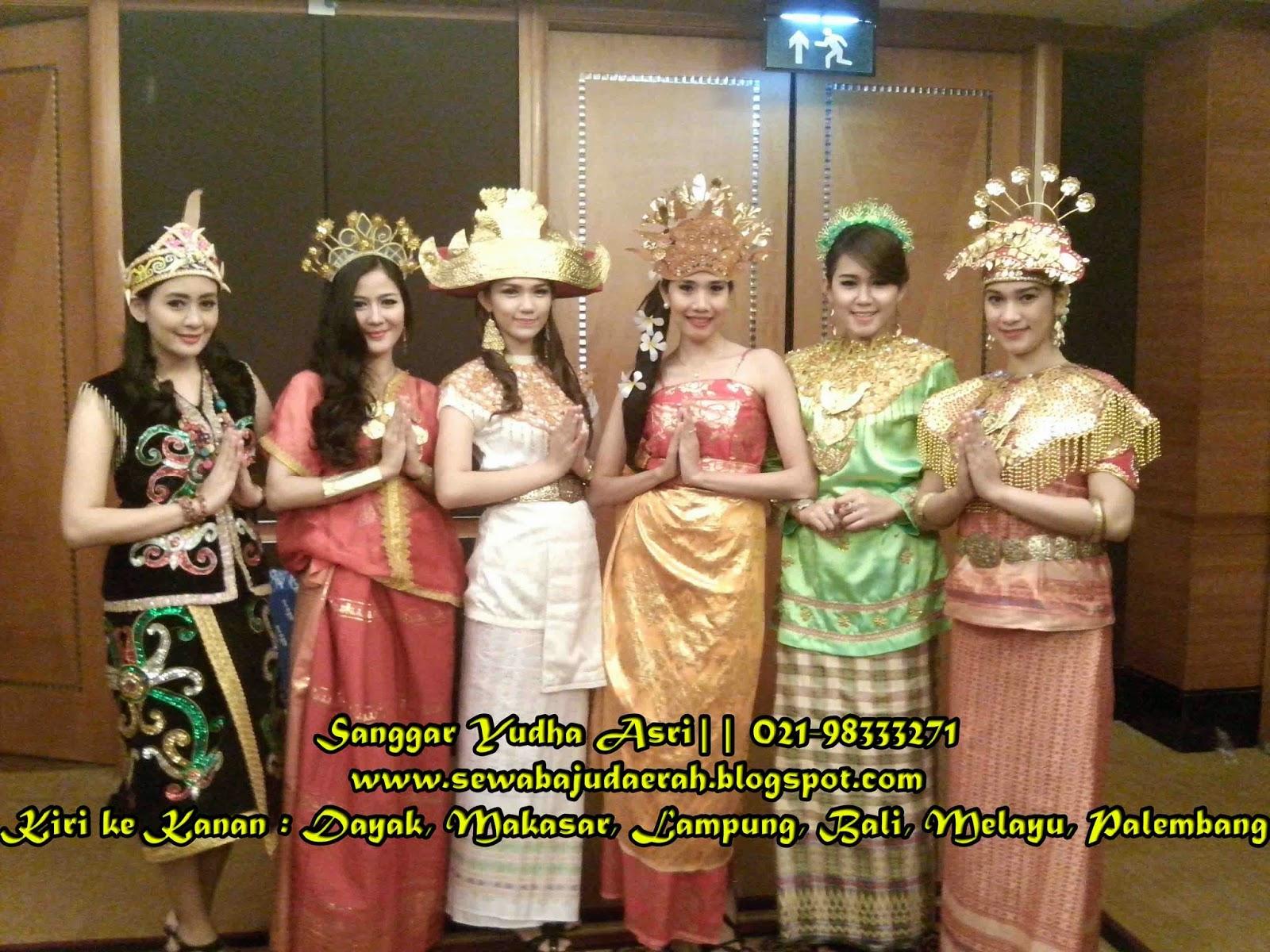 Sewa Kostum Daerah, Sewa Baju Daerah Telp. 021-51174860 / 087871527369 ...