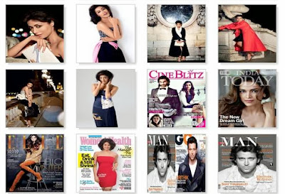 Celebrities on November 2013 Magazine Photoshoots Covers