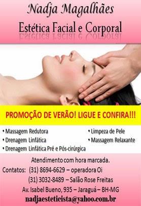 Nádja Magalhães Estética Facial e Corporal  (31)8694-6629