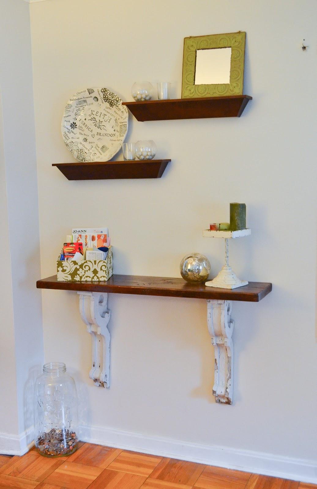 Little And Lovely Corbel Shelf