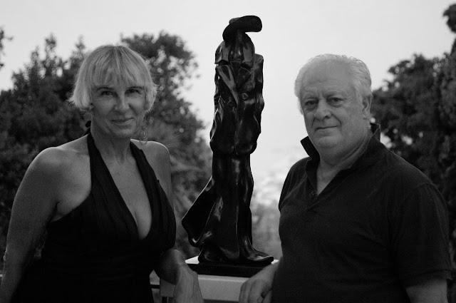 Silvano D'Orsi con Rita Castigli