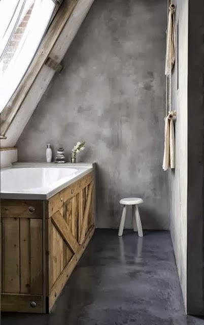 Home garden 60 id es pour recycler des palettes - Deco badkamer hout ...