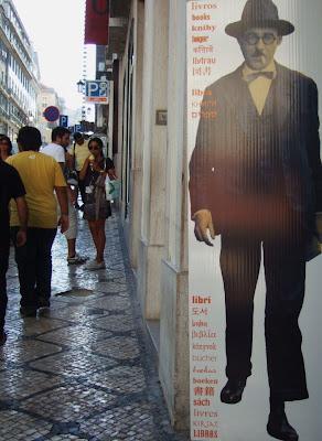 Livros no Chiado, Rua Almeida Garrett, Assírio e Alvim, Fernando Pessoa