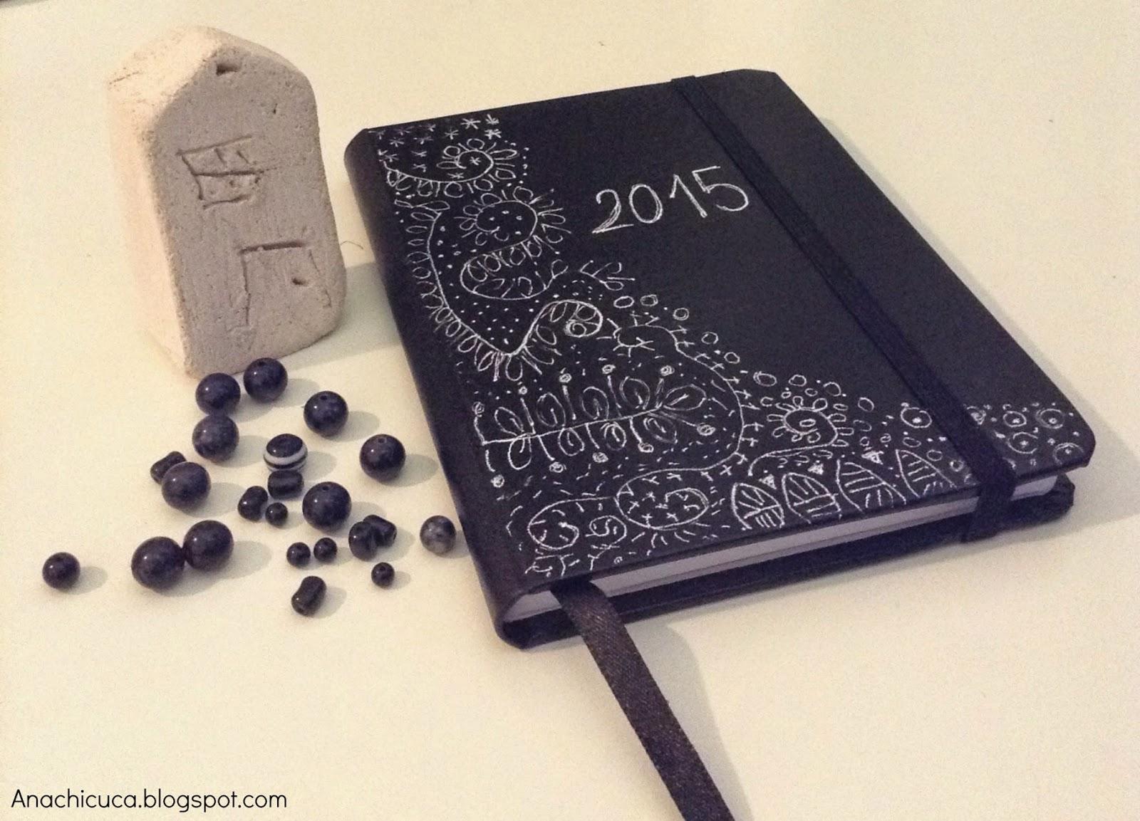 Anachicuca libreta de notas decorada - Pagina de decoracion ...
