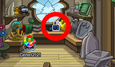 Club Penguin Glam Cam Pin Cheat