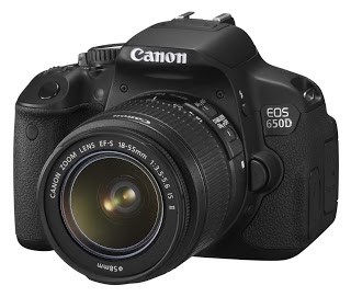 Harga kamera DSLR Canon EOS 650D beserta Spesifikasinya
