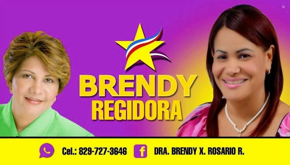 Brendy Rosario, regidora