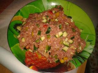 polpettone carne e verdure