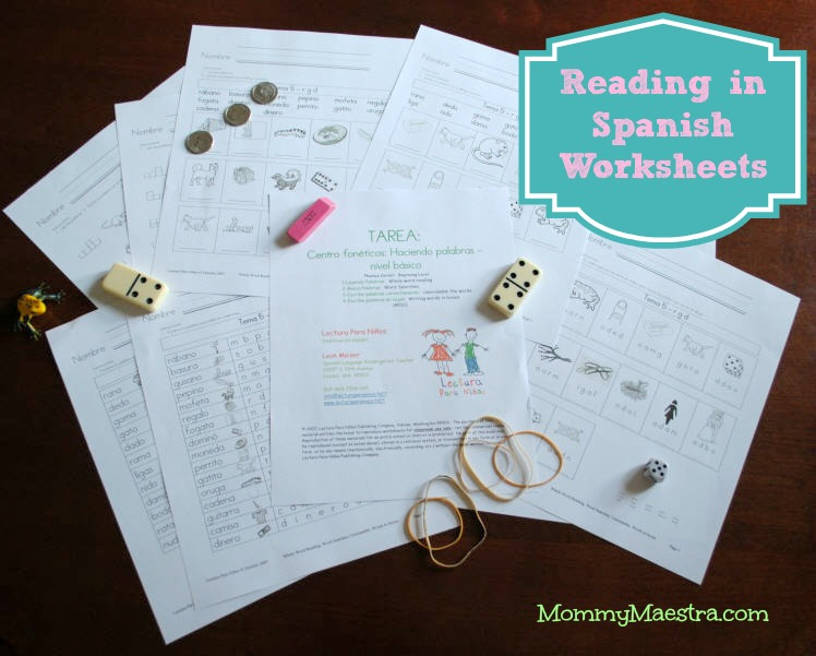 Mommy Maestra: Free Spanish Reading Worksheets: Haciendo palabras