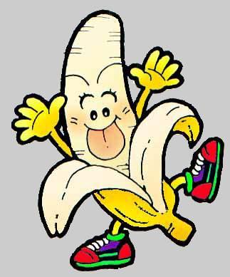 Banana Fruit Cartoon Free Clipart