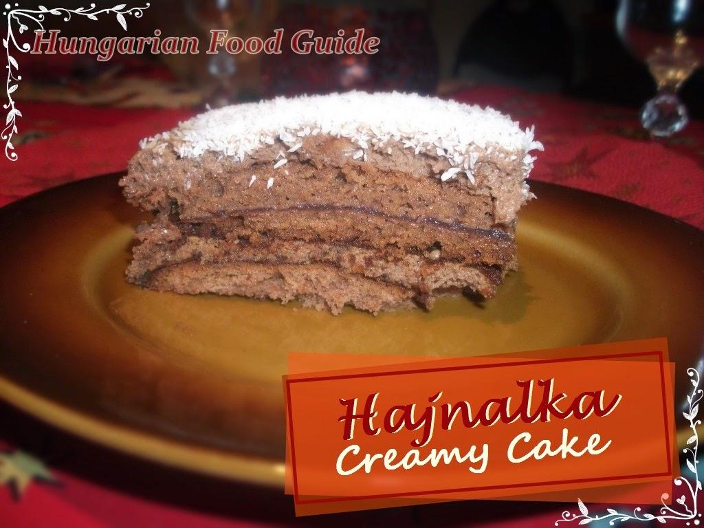 hajnalka creamy cake
