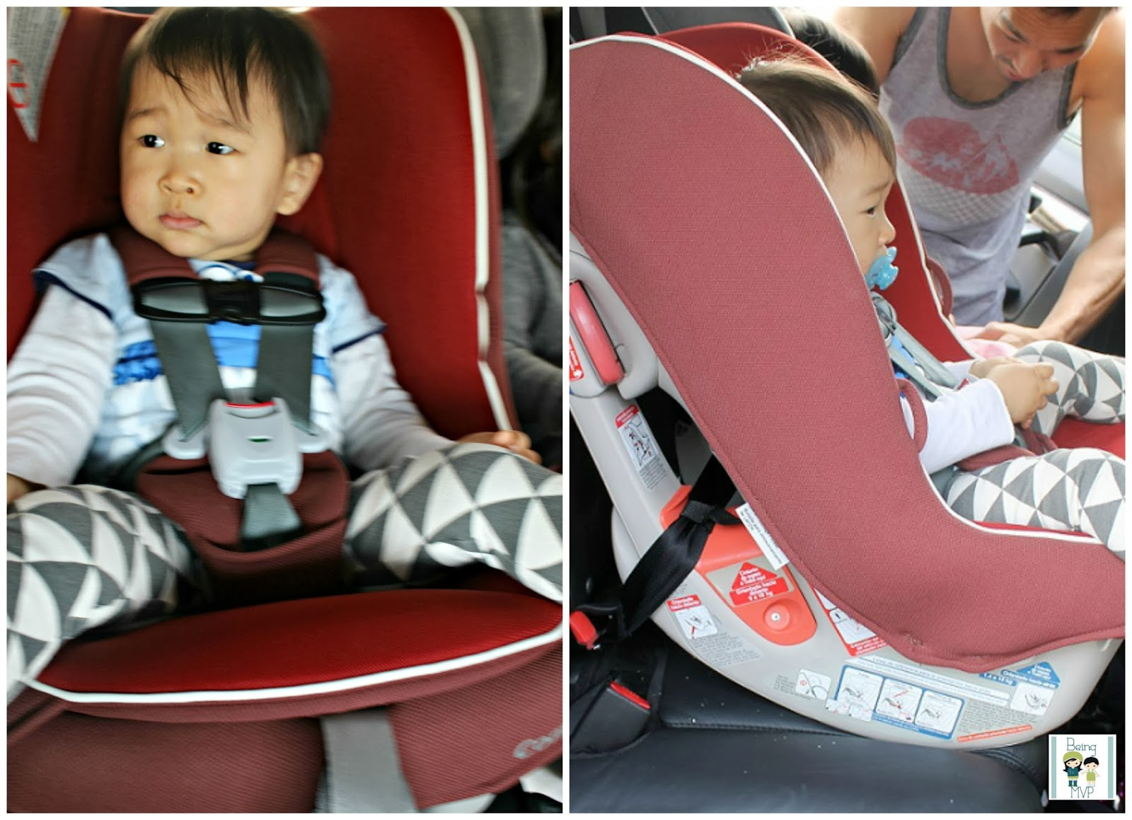 being MVP: Compact Car Seat for Compact Car or Multiples @CombiUsa
