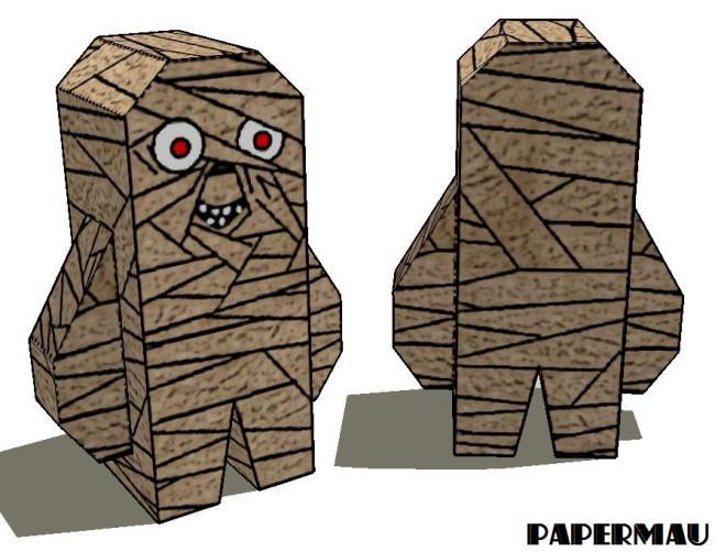 mummy paper The brown paper lunch bag has been made into numerous different paper bag puppets over the years this year, grab the kids and have them make these halloween puppets, complete with a jack.