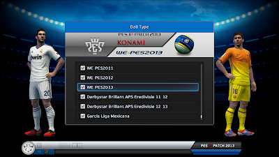 PESJP Patch 2013 New versions screenshots