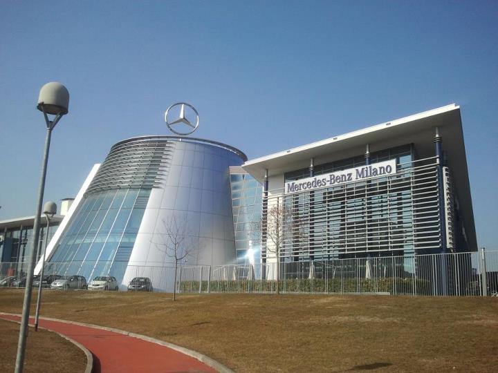 mercedes benz headquarters milano italy entertainment enter