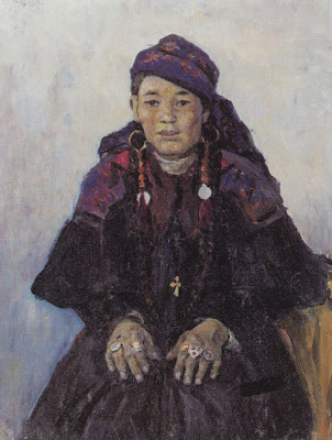 Khakassian woman