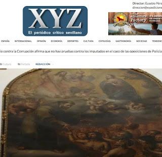 Noticia periódico XYZ