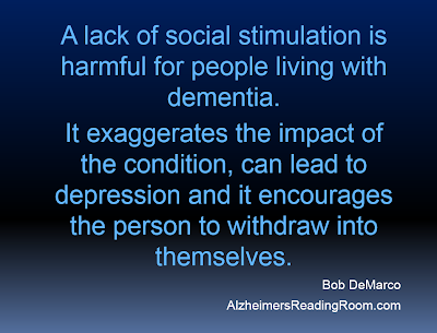 Alzheimer's Caregiver Reaps the Benefits of Socialization and Getting Out