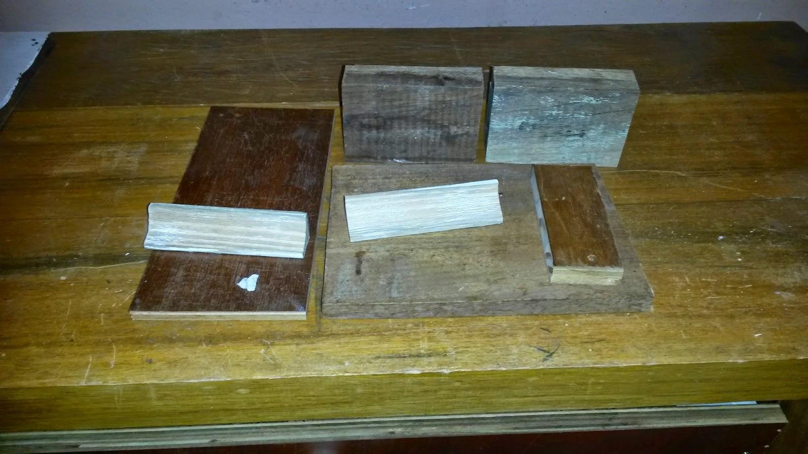 Depois de cortados os materiais juntei tudo para verificar se iria  #5C4B1A 1600x900