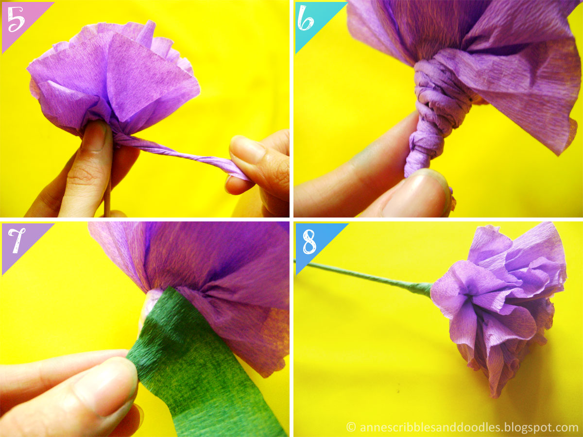 Carnation Paper Flower DIY