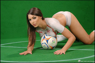 Soccer Body Paint Women