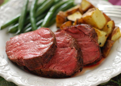 Boneless Top Sirloin Petite Roast, tennessee beef, tenderloin roast