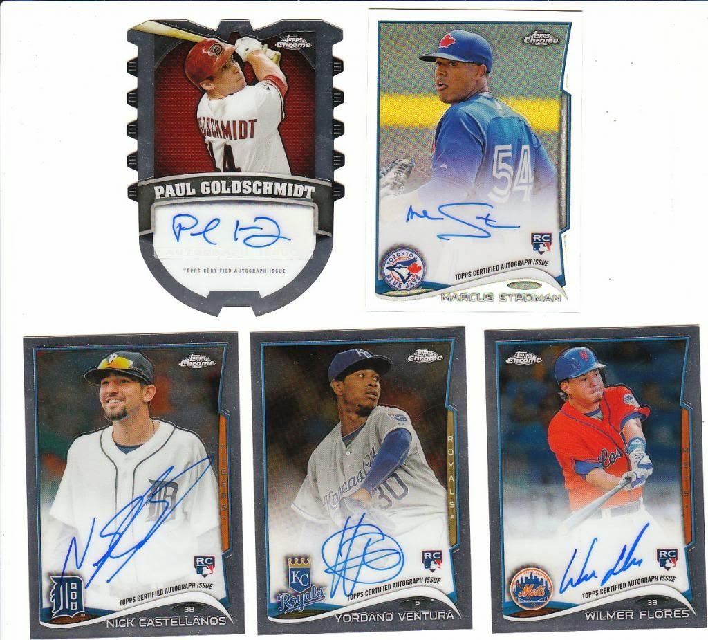 Bluff City Box Breaks: 2014 Topps Chrome Baseball Jumbo Box
