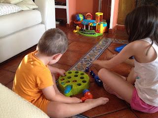 juego, niños, hijos verano, vacaciones