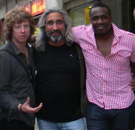 Con Simon y Andrew de Brand New Heavies