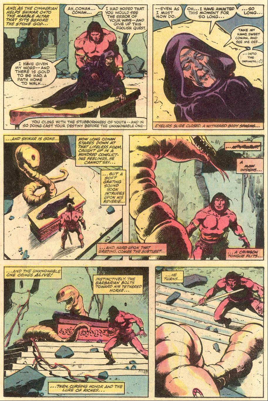 Conan the Barbarian (1970) Issue #126 #138 - English 12
