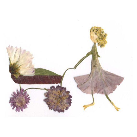 wonderful 'flower girl' by elsa mora