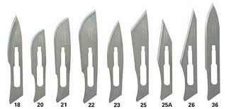 Scalpel Blade (Pisau Operasi)