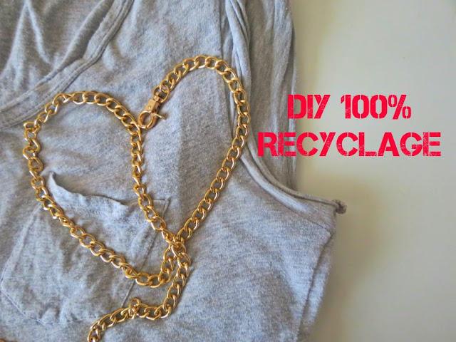 DIY: Un head band 100% recyclage