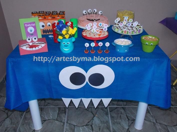 Festa de 3 anos - monstrinhos