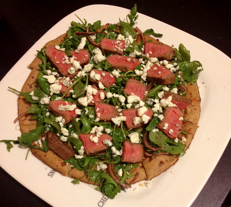 Steakhouse Salad Pizza | Hard Parade