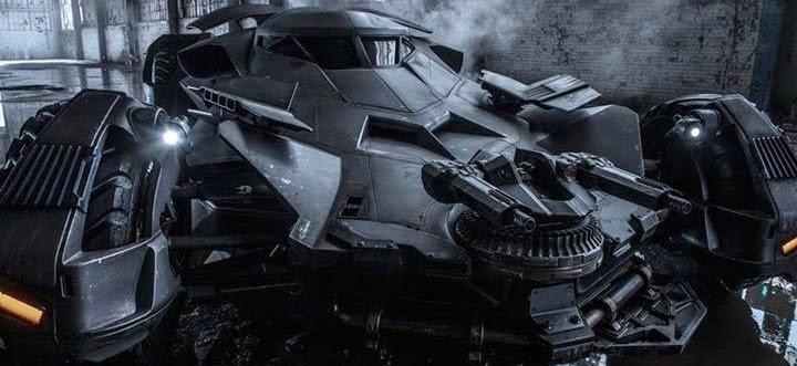 Zack Snyder revela imagem inédita do Batmóvel de Batman v Superman: Dawn of Justice